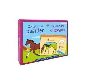 Deltas Zo teken je paarden - 12 sjabloonkaarten