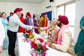 Indian Wedding Ceremony at Sikh Temple Canning Vale