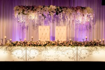 Suspended 4m Floral Truss