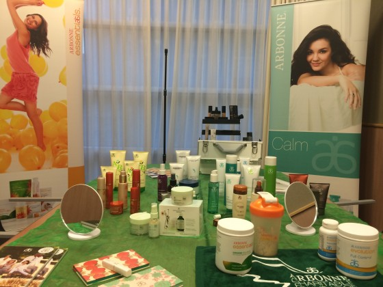 Just a selection available from www.arbonne.com