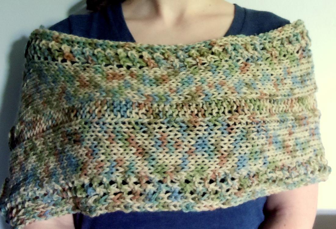 Knit Summer Breezy Wrap - Knitting Naturals