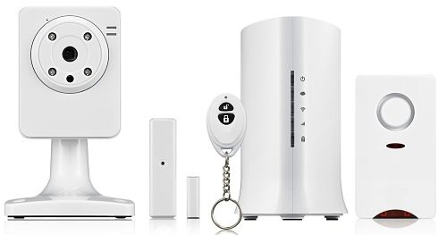 One lucky reader will win both the MivaTek Home Security System Starter Kit with a $300 RV and the Video Add-On with a $200 RV. That's a total prize value of $500!
