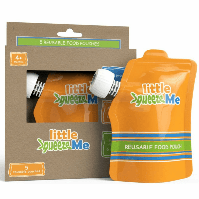 Little SqueezeMe - Let's You Support Moms and Babies While Going Green and Saving Money