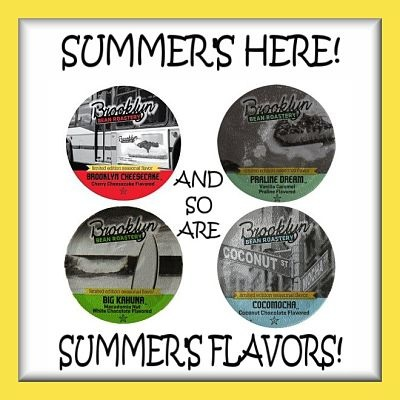Summer's Flavors Coffee #Giveaway is on the Back to School #Hop August 1 - 15 #BBRHB @BrooklynBeans1