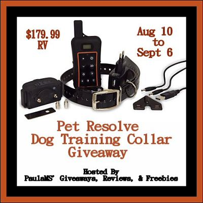 Welcome to the Pet Resolve Dog Training Collar Giveaway Secret Word Page  August 10th - September 6th  GOOD LUCK!