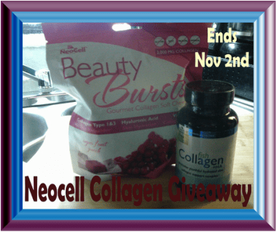 Enter to Win This Great Beauty Prize Package in the Neocell Collagen #Giveaway by 11/2