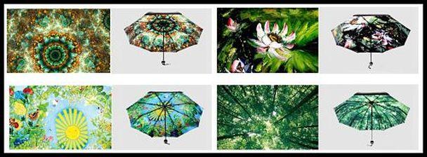 Encan Women Umbrella Comes In 4 Beautiful Prints