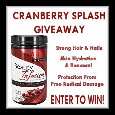 Cranberry Splash #Giveaway Ends 12/16