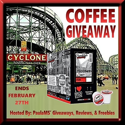 Brooklyn Beans Cyclone Coffee Giveaway ~ Ends 2/27