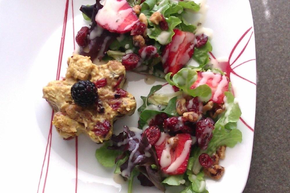 Wildflower Chicken Salad W/Mixed Greens
