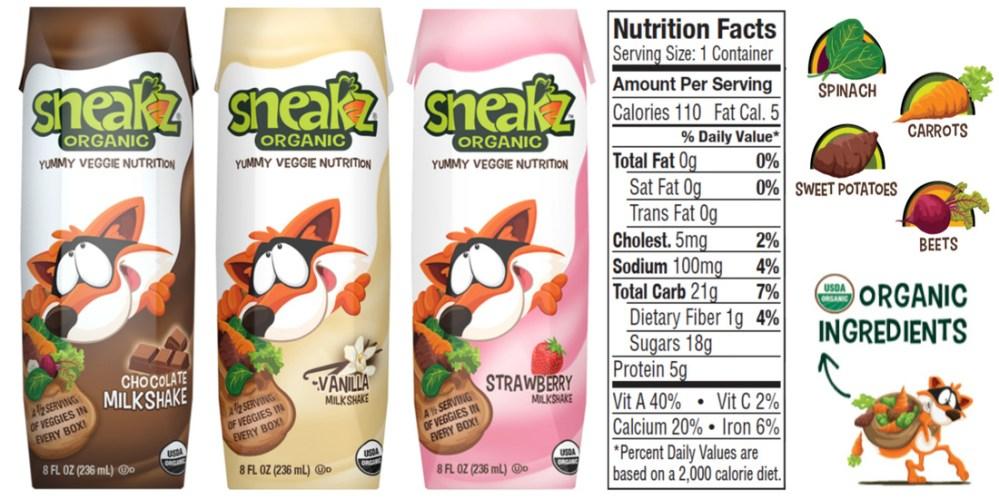 Sneakz Organic - part of US Japan Fam's Back To School Bonanza!