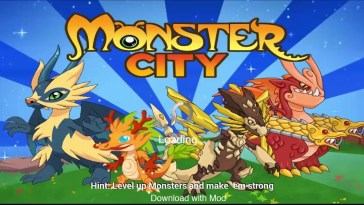 Monster City Mod Apk