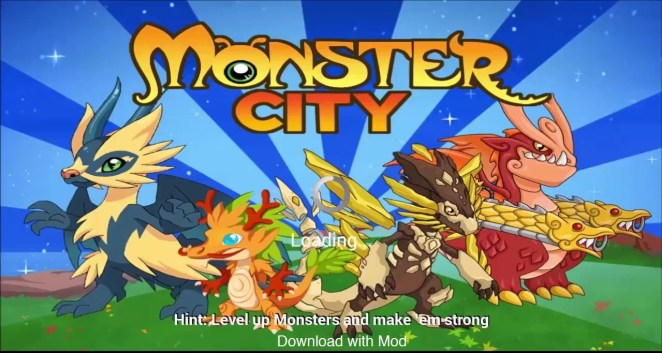 Screen shot Monster City Mod Apk