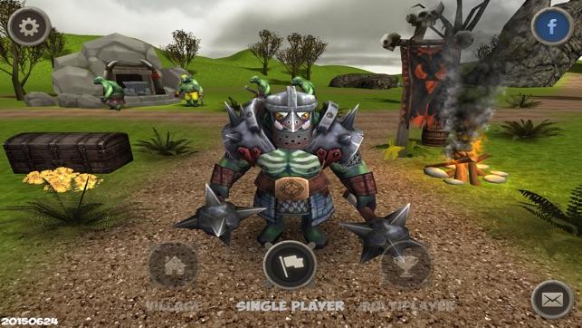 orc war clash