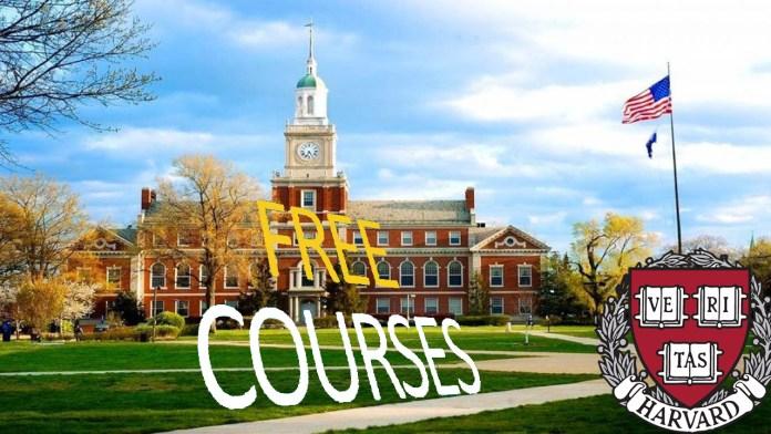 free courses from harvard university