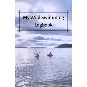 My Wild Swimming Logbook - Look Where We Are Cover Design