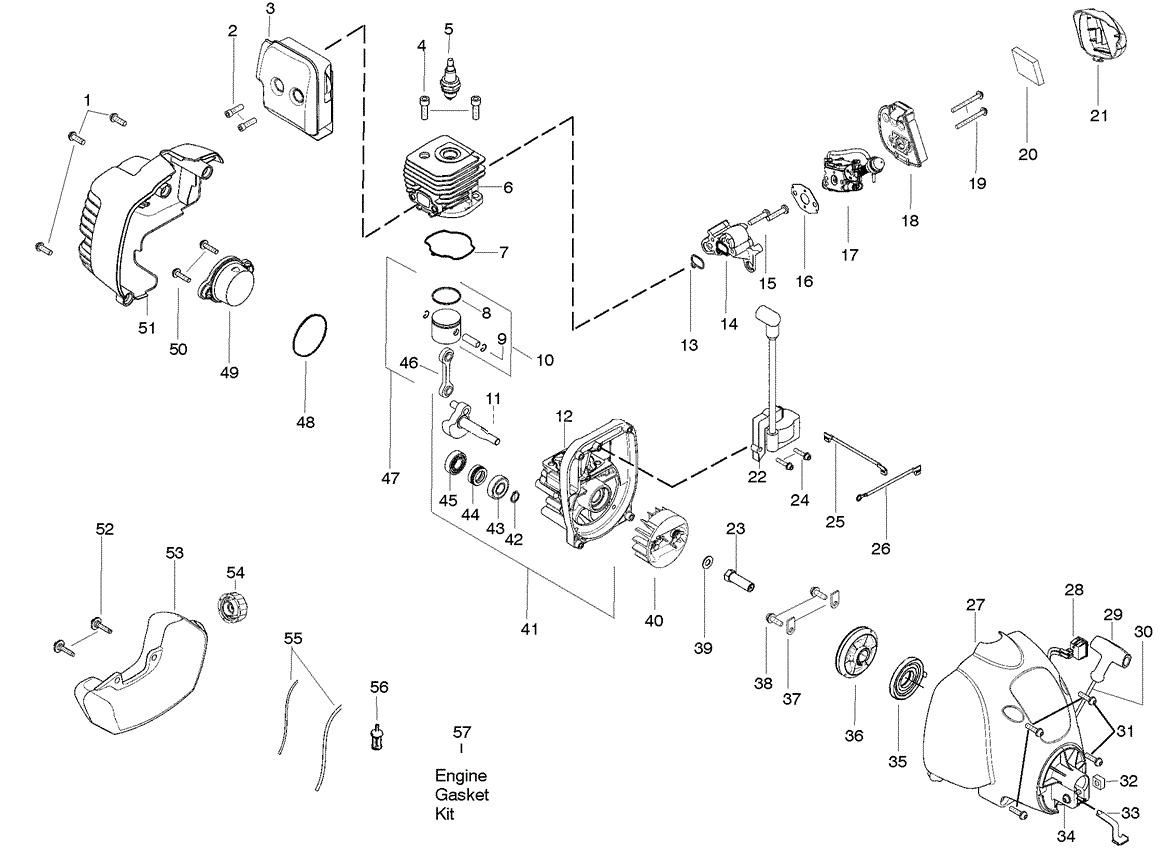W25cfk Engine Parts