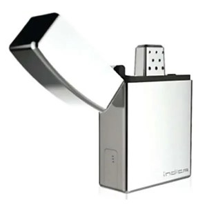 The indica vaporizer looks like a zippo lighter