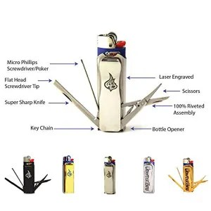 Lighter Bro turns your lighter into an awesome multi-tool!