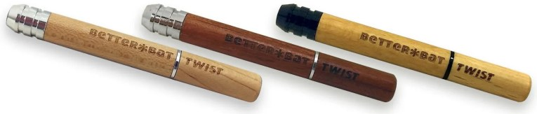 The RYOT Better Bat Twist can clear ash with ease!