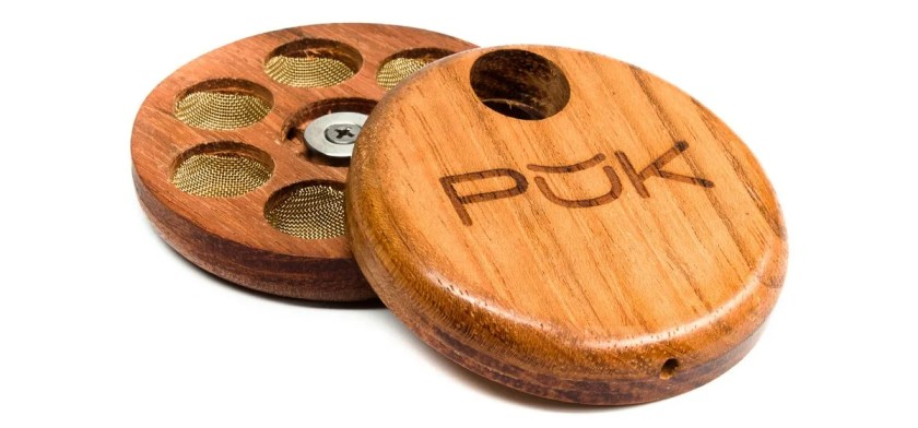 Six Chamber Magnetic Wood Pipe by PUK