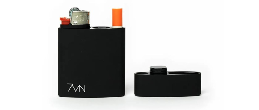 7vn metal dugout stash case makes a great stoner gift for smokers