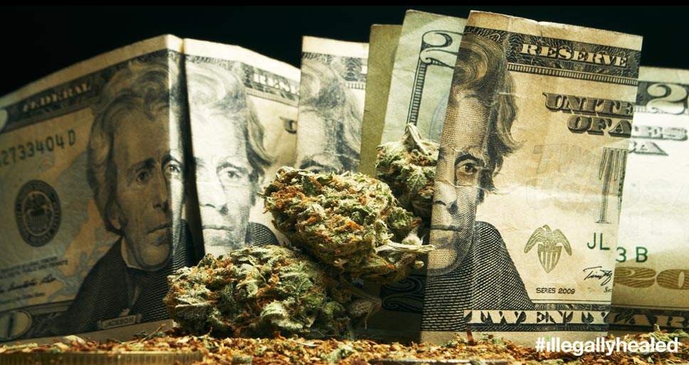 Americans spent $5.4 billion on legal medical and recreational marijuana last year, according to new estimates from ArcView Market Research and New Frontier Data, two marijuana industry market research groups.