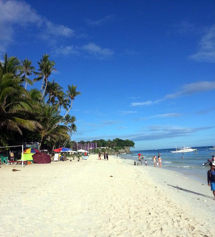 The underwhelming Alona Beach