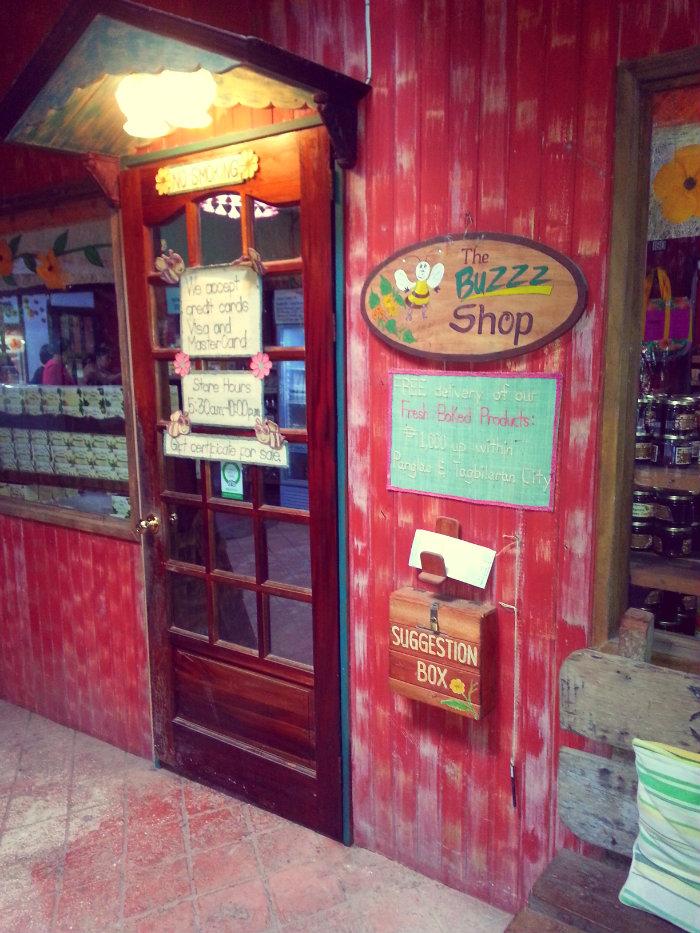 buzz shop door