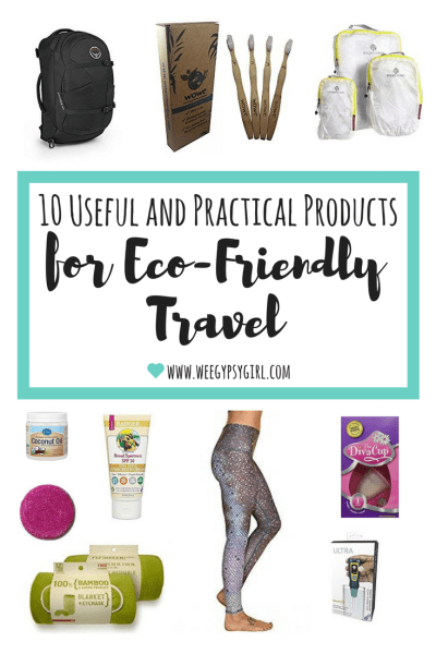 Eco-friendly travel products