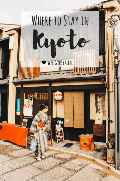 Kyoto Capsule hostel where to stay