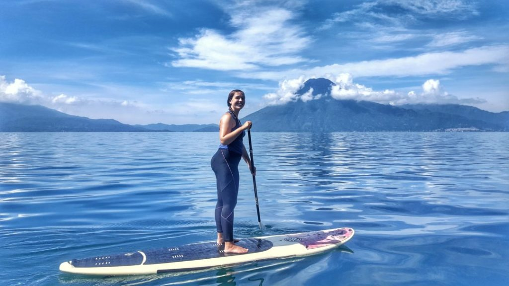 stand-up paddleboarding lake atitlan sup atitlan santa cruz la laguna