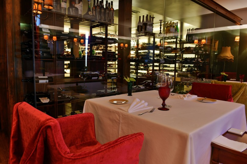 Largo do Paco - Restaurant 1 etoile Michelin de la Casa da Calcada - Amarante - Porto