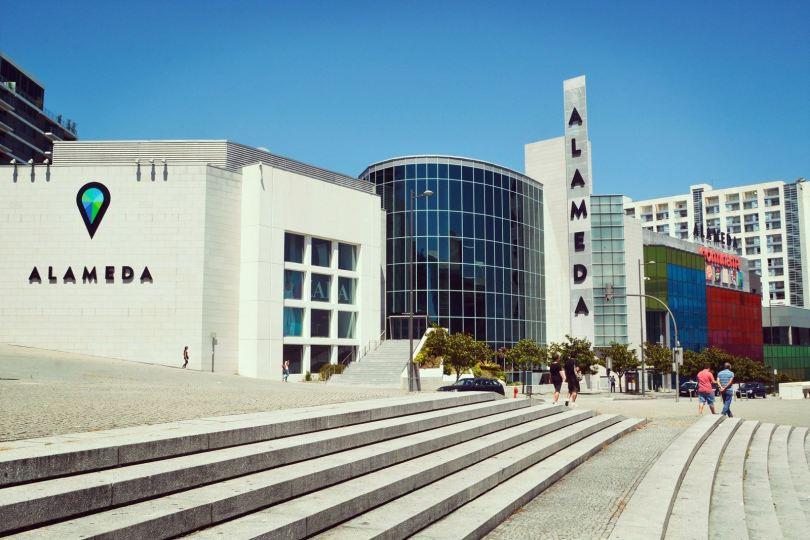 Batiment du centre commercial Alameda Shopping - Porto
