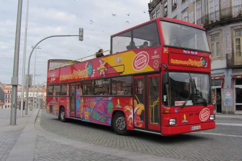 Bus touristique Citysightseeing Porto