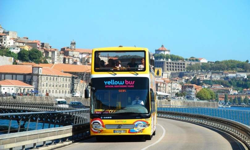 Bus touristique Yellow Bus - Porto