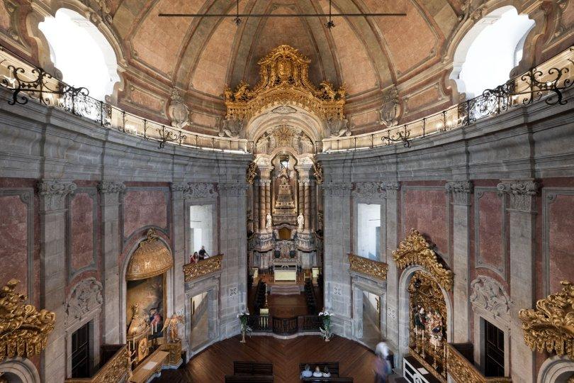 Interieur Eglise des Clercs - Igreja dos Clerigos - Porto
