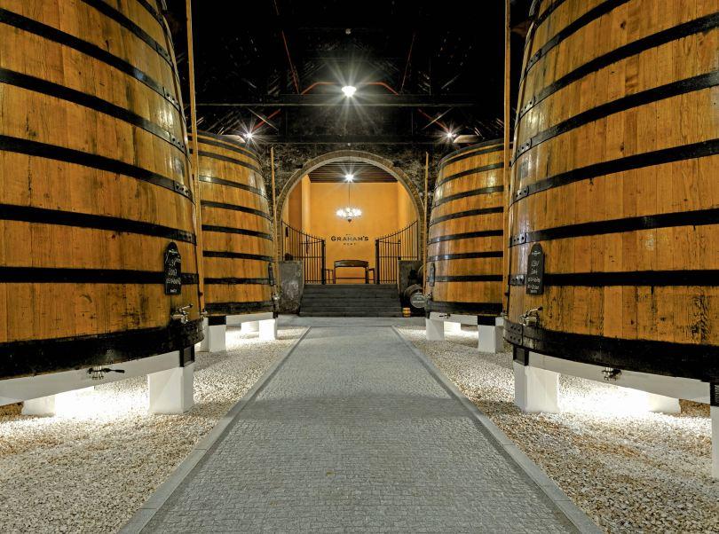 Tonneaux geants de vin de Porto - Grahams 1890 Lodge