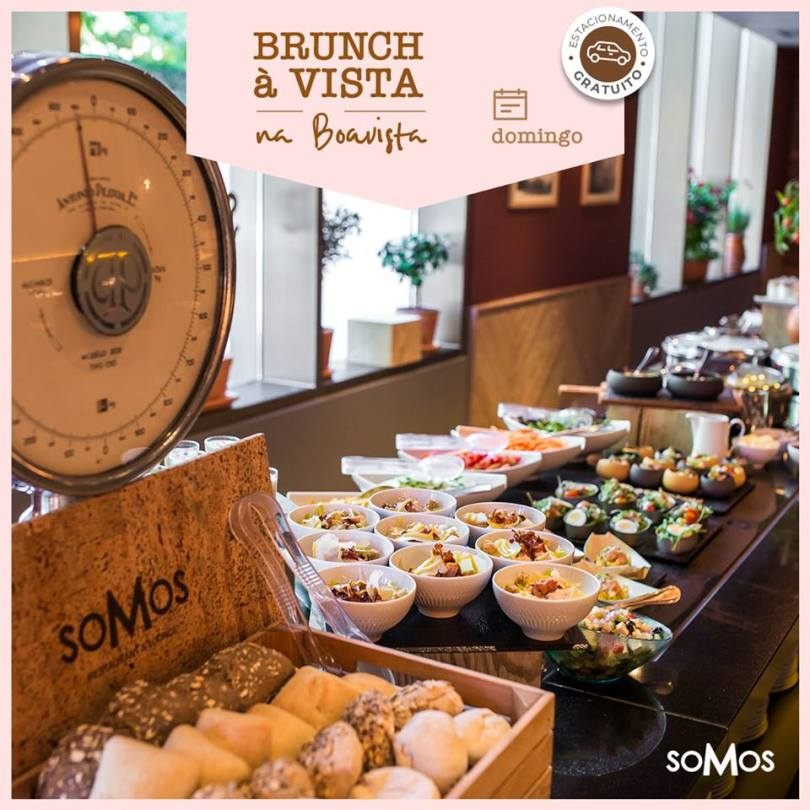 Brunch du Somos Restaurant - Hotel Crowne Plaza - Porto