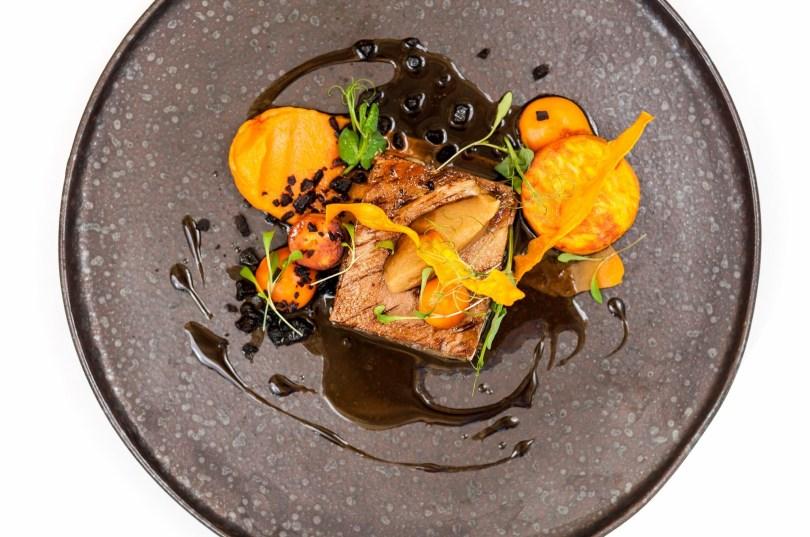 Plat filet de porc cuit basse temperature - Restaurant Astoria - Porto