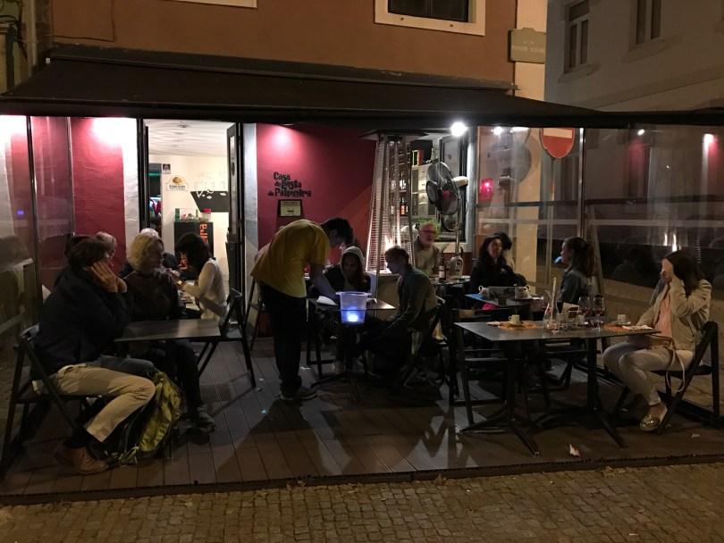 Terrasse du restaurant Casa de Pasto da Palmeira - Porto