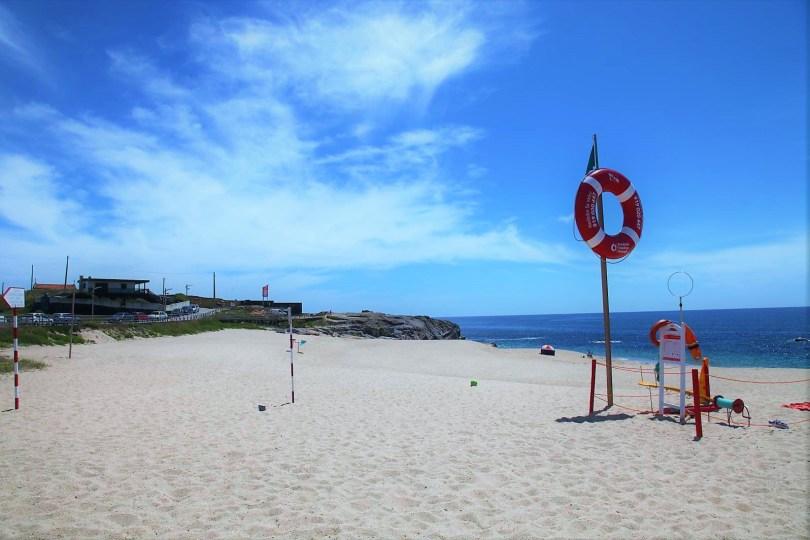 Plage de Moreiro pres de Porto - Vila Cha - Vila do Conde