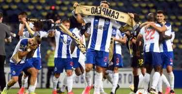 Joueurs du FC Porto champions en 2020