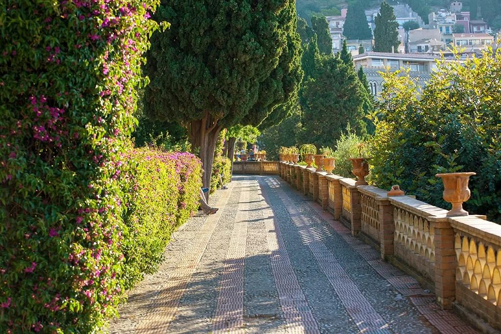 jardin communale Taormina
