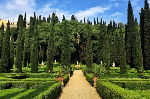 jardin giusti verone italie weekend romantique amoureux