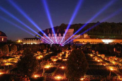 #Night of a thousand lights at Villandry Castle