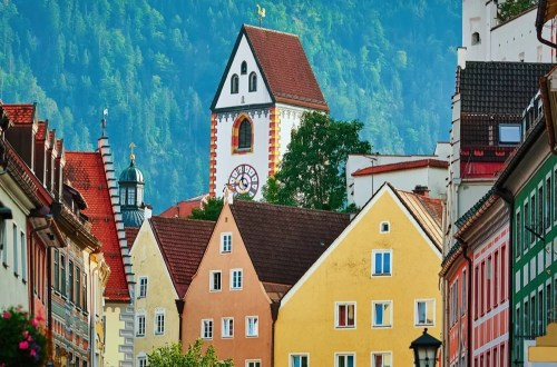 #Füssen, the Bavarian romantic