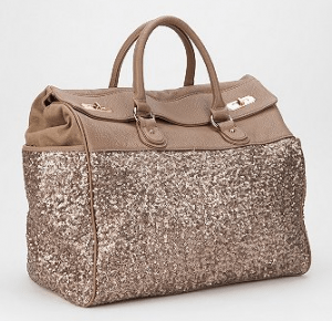 Deaux Lux Sequin Weekender from Urban Outfitters ($190 + free shipping/returns)