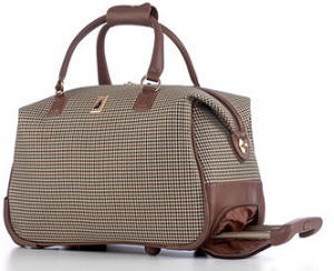 Rolling Club Bag from London Fog (reg $220/on sale for $109.99)