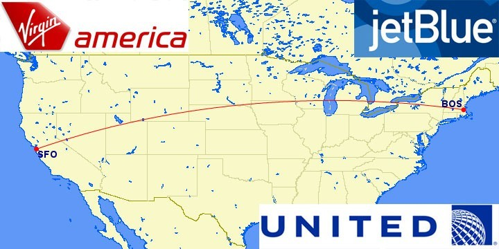 Top Longest Domestic US Flights Weekend Blitz - Us commercial flight path map